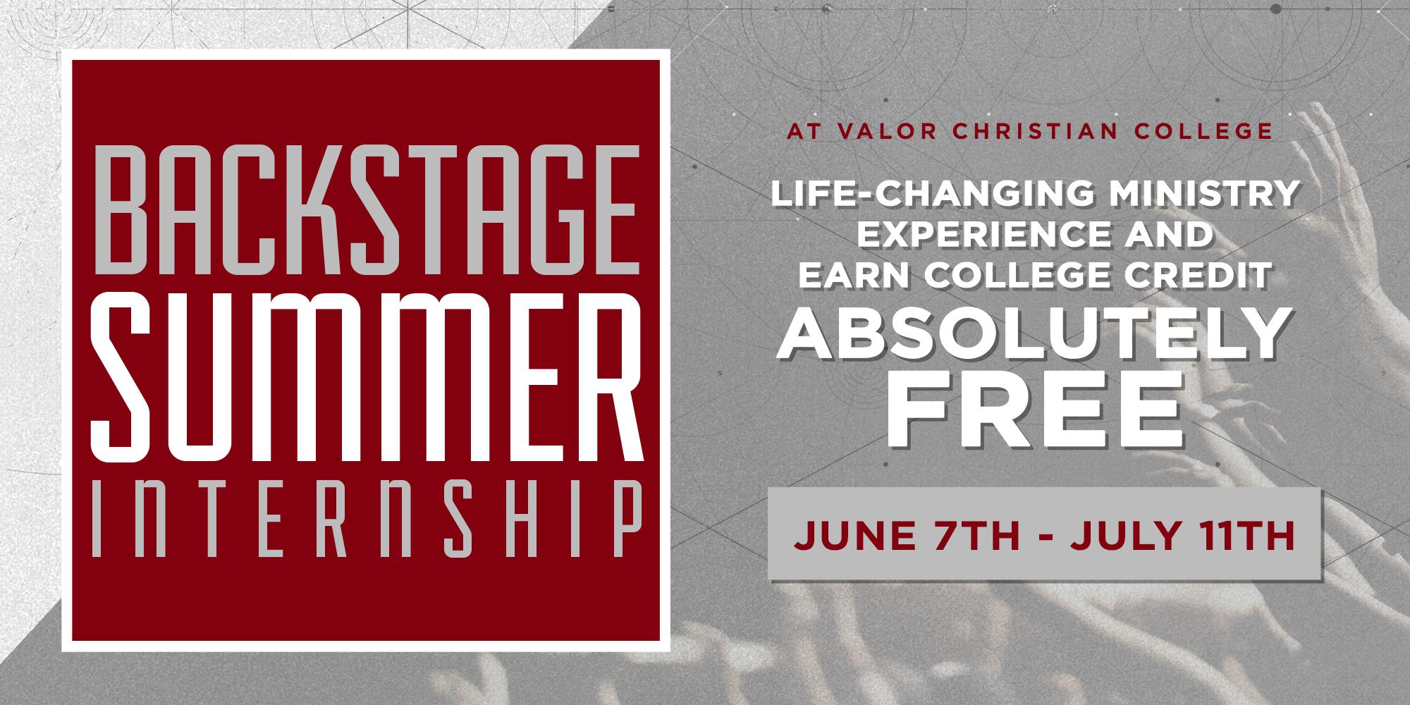 Internship Opportunity | Valor Christian College