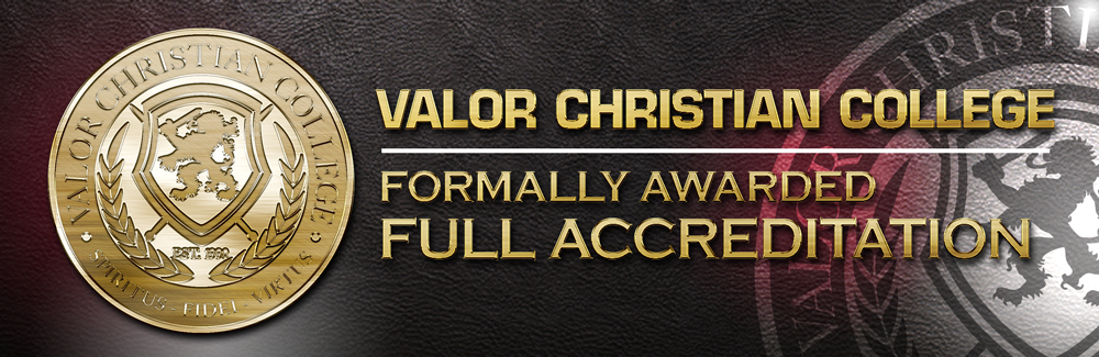 Valor Christian College Full Accreditation